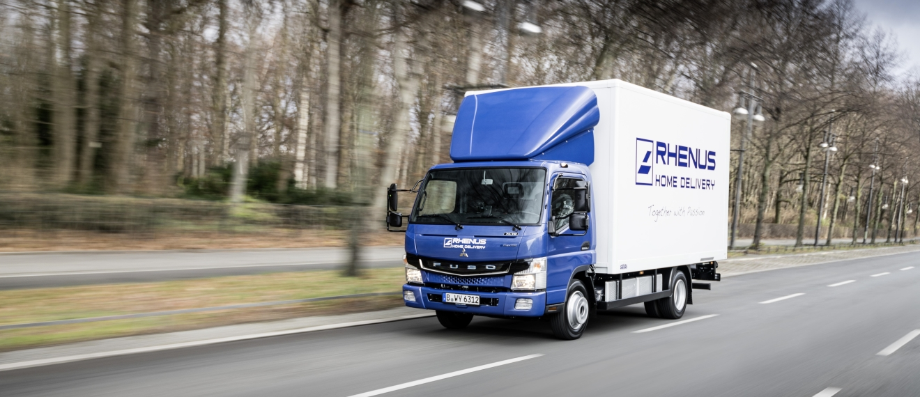 Rhenus Home Delivery UK Truck
